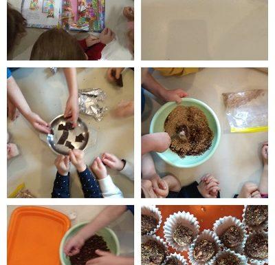 Leptirići - čitanje priče Božićni kolačići i izrada zdravih božićnih kolačića