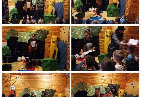 Leptirići i Ribice - predstava Veliki zli lisac u izvedbi knjižničarki dječjeg odjela Knjižnice Ivana Gorana Kovačića