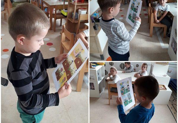 Ribice - ispričaj priču prema slikama, poticaj razvoj govora, maštovitosti i koncentracije