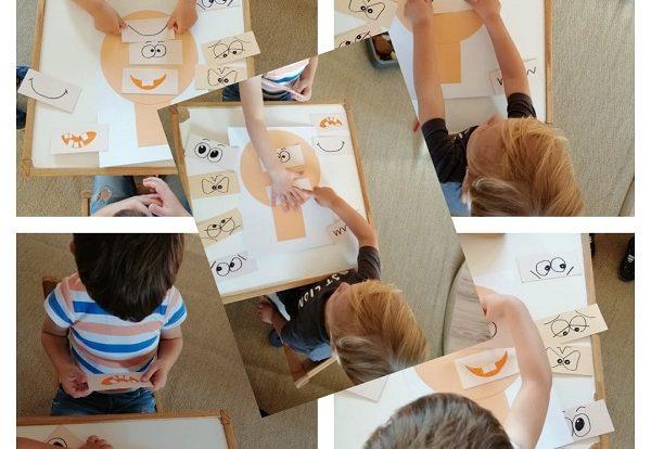 Zečići - poticanje uočavanja i prepoznavanja emocija igrom slaganja izraza lica