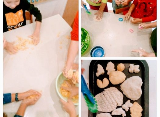 Ribice - Days of bread, making bagels of wheat and corn flour