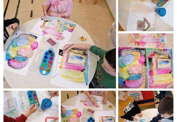 Leptirići - stvaranje vlastite sliko priče, poticanje na kreativnost i maštu