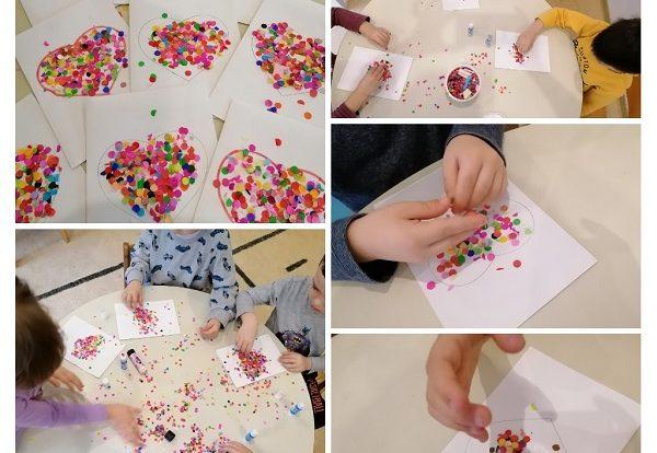 Leptirići - obilježavanje Valentinova, kod djece potičemo na ljubav i suosjećanje s drugima