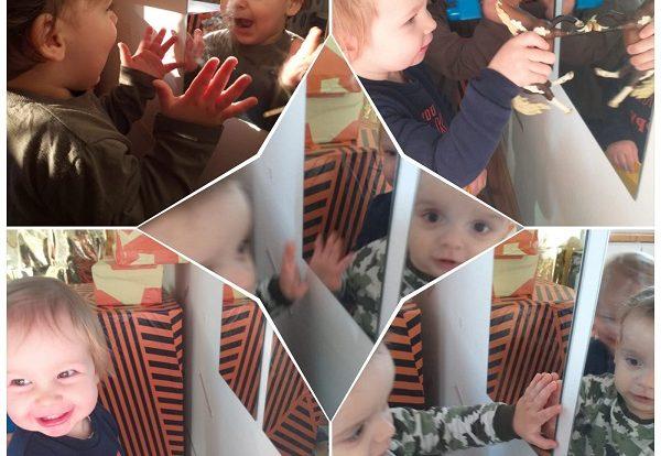 Bubamare - Poticanje razvoja slike o sebi kroz aktivnost gledanja svog odraza u ogledalu