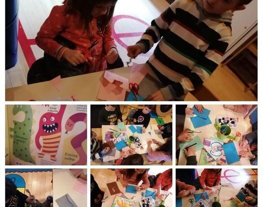 Frfići mozgalići- izrada Čudovištnih usta i zmajeva, razvoj mašte i kreativnosti