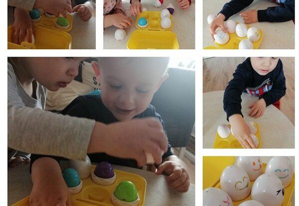 Zečići - poticanje razvoja logičkog razmišljanja, razvoj okolomotorne koordinacije, povezivanje boja i oblika