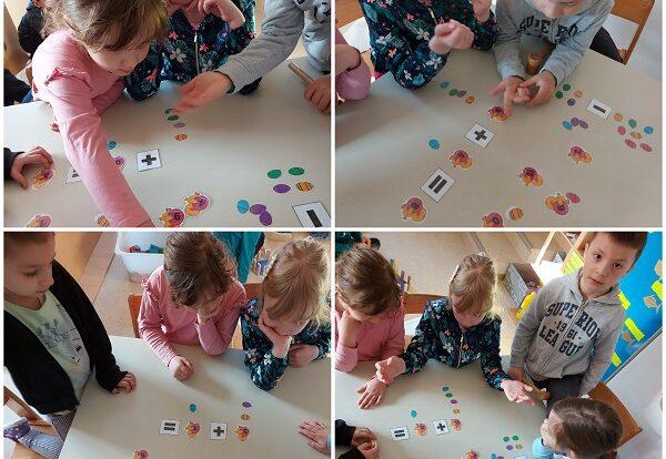 Ribice - zbrajanje i oduzimanje do 20 uz interaktivne kartice, razvoj spoznaje, logike