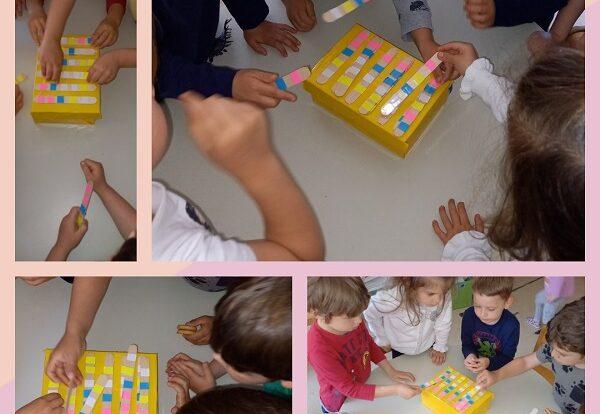 Leptirići - stolno-manipulativni centar, poticanje na logičko razmišljanje, prepoznavanje i suradničku igru