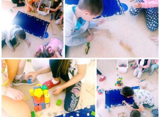 Ribice - creative building activities, 3D seaside resort