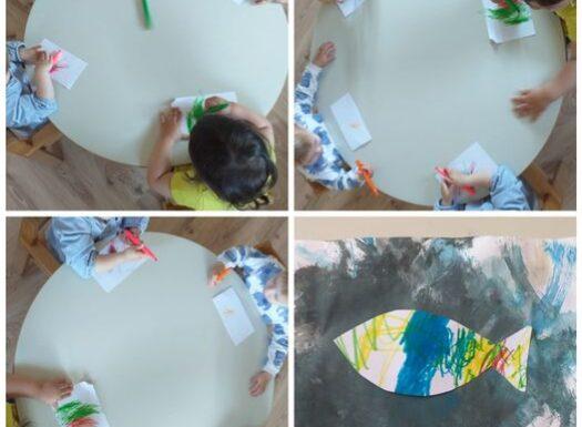 Bubamare - crtanje flomasterima, poticanje pravilnog hvata, razvoj kreativnosti i grafomotorike