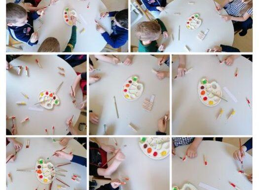 Leptirići- spoznajni razvoj, razvoj mikromotorike i uparivanje boja