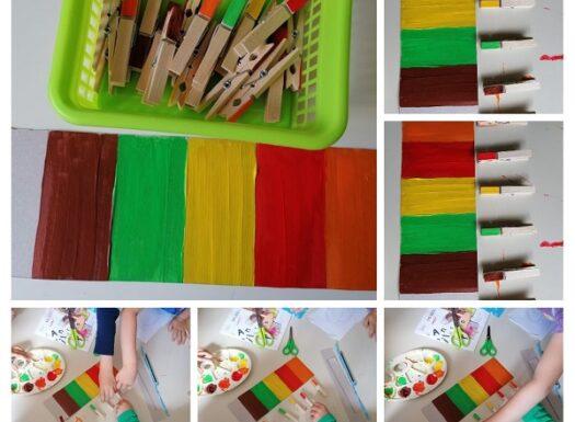 Leptirići - percepcija i razlikovanje boja, imenovanje i pridruživanje, poticanje spoznajnog razvoja