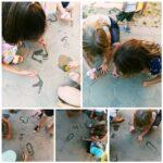 Žirafice - aktivnost pecanja ribica pomoću magneta. Proučavanje magnetizma i razvoj okulomotorne koordinacije. Usvajanje vještina međuljudskih odnosa, suradnje i dijeljenja